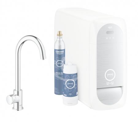 GROHE - Blue Home Drezový ventil Mono Connected, s chladiacim zariadením a filtráciou, chróm (31498001)
