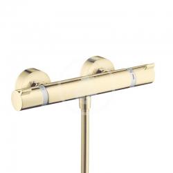 HANSGROHE - Ecostat Comfort Termostatická sprchová  batéria, leštený vzhľad zlata (13116990)