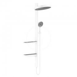HANSGROHE - Rainfinity Sprchová súprava Showerpipe 360, 1jet, matná biela (26842700)