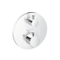 HANSGROHE - Ecostat S Termostatická sprchová batéria pod omietku s uzatváracím a prepínacím ventilom, chróm (15758000)