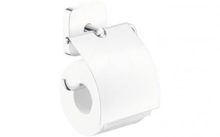 HANSGROHE - PuraVida Držiak kotúča toaletného papiera, chróm (41508000)
