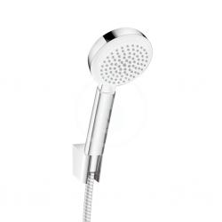 HANSGROHE - Crometta 100 Ručná sprcha Vario/Porter´S, súprava 1,25 m, biela/chróm (26666400)