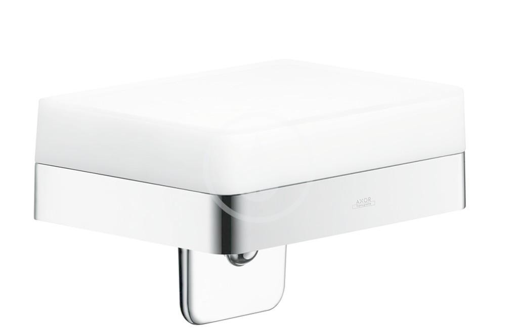 AXOR - Universal Dávkovač tekutého mydla a polička, chróm 42819000