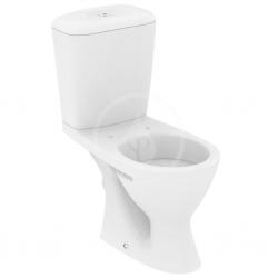 IDEAL STANDARD - Eurovit WC kombi misa s nádržkou, zadný odpad, biela (W903401)
