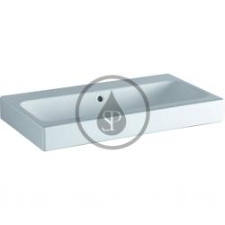 GEBERIT - iCon Umývadlo, 900 mm x 485 mm, biele - bezotvorové umývadlo, s KeraTect (124093600)