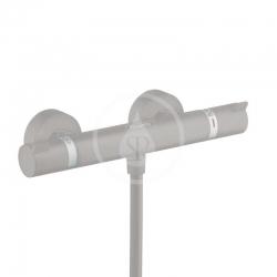 HANSGROHE - Ecostat Comfort Termostatická sprchová  batéria, kefovaný čierny chróm (13116340)