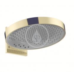 HANSGROHE - Rainfinity Horná sprcha 360 s pripojením, 3jet, leštený vzhľad zlata (26234990)