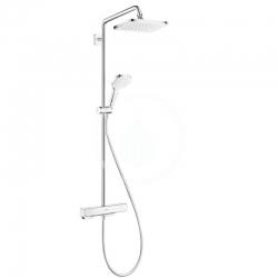 HANSGROHE - Croma Sprchový set Showerpipe s termostatom, 1jet, EcoSmart, chróm (27660000)