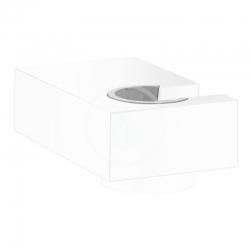 HANSGROHE - Držáky Nástenný držiak sprchy Porter E, matná biela (28387700)