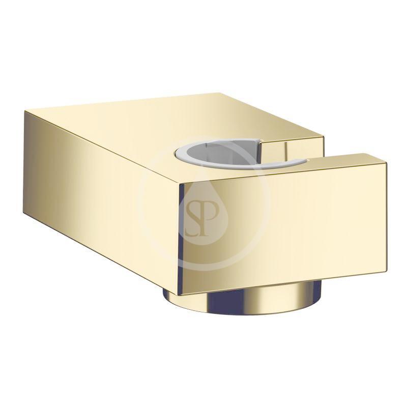 HANSGROHE - Držáky Nástěnný držák sprchy Porter E, leštěný vzhled zlata (28387990)