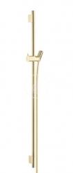 HANSGROHE - Unica'S Sprchová tyč 900 mm so sprchovou hadicou, leštený vzhľad zlata (28631990)