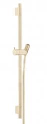 HANSGROHE - Unica'S Sprchová tyč 650 mm so sprchovou hadicou, kefovaný bronz (28632140)