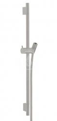 HANSGROHE - Unica'S Sprchová tyč 650 mm so sprchovou hadicou, kefovaný čieny chróm (28632340)