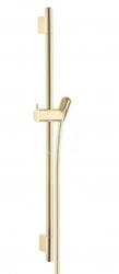 HANSGROHE - Unica'S Sprchová tyč 650 mm so sprchovou hadicou, leštený vzhľad zlata (28632990)