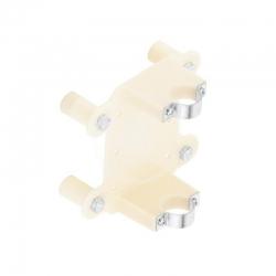 KLUDI - Náhradní díly Montážna súprava pod omietku, biela (7642400-00)