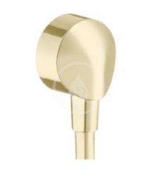 HANSGROHE - Fixfit Prípojka hadice E bez spätného ventilu, leštený vzhľad zlata (27454990)