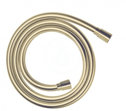 HANSGROHE - Hadice Sprchová hadica Isiflex 1,60 m, leštený vzhľad zlata (28276990)