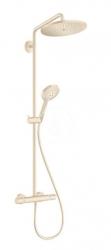 HANSGROHE - Croma Select S Sprchový set Showerpipe 280 s termostatom, kefovaný bronz (26890140)