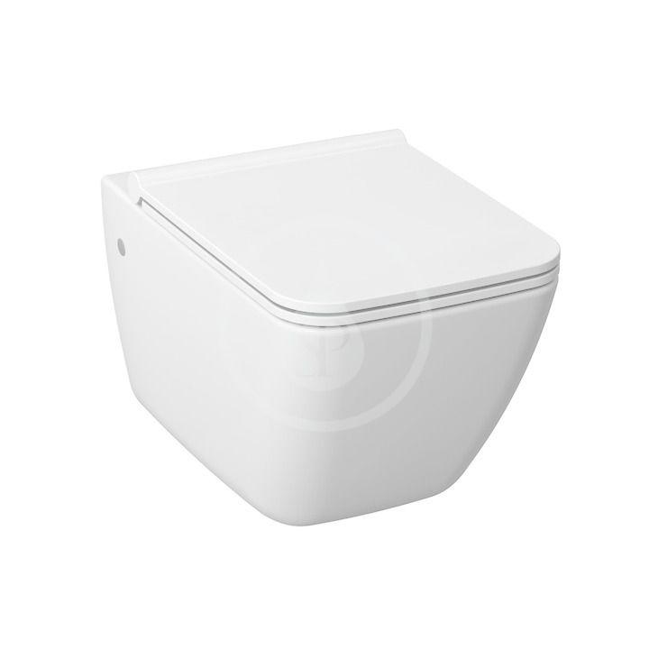 JIKA - Pure Závesné WC s hlbokým splachovaním, Antibak, biela H8204230000001