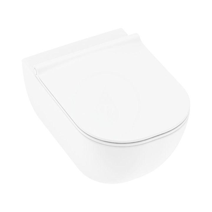 Mio Závesné WC Total Clean, Jika perla, biela H8207121000001