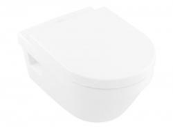 VILLEROY & BOCH - Architectura Závesné WC so sedadlom SoftClosing, DirectFlush, alpská biela (5684HR01)