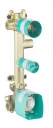 AXOR - Montážní tělesa Teleso termostatového modulu pod omietku na 3 spotrebiče, chróm (36708180)