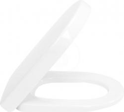 VILLEROY & BOCH - Subway 2.0 WC sedadlo s poklopom, softclose – sedadlo, závesy z ušľachtilej ocele (9M68S101)