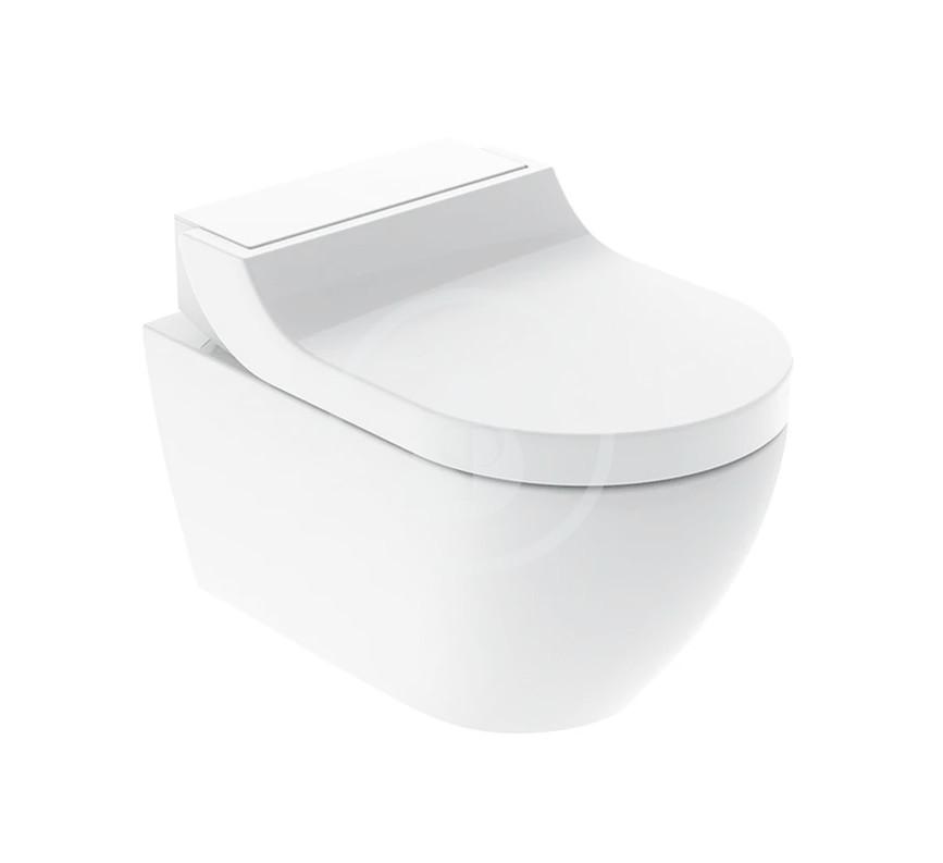 GEBERIT - AquaClean Elektronický bidet Tuma Classic s keramikou, Rimfree, SoftClosing, alpská biela 146.092.11.1