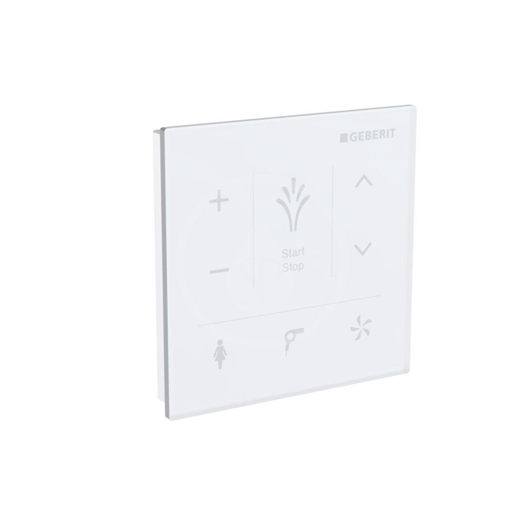 GEBERIT - AquaClean Nástenný ovládací panel na elektronický bidet, biela 147.038.SI.1