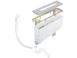 KLUDI - Rotexa Súprava odtokovej súpravy a telesa na okraj vane, na 3-otvorovú batériu (7881205-00)
