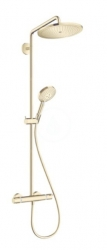 HANSGROHE - Croma Select S Sprchový set Showerpipe 280 s termostatom, leštený vzhľad zlata (26890990)