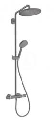 HANSGROHE - Croma Select S Sprchový set Showerpipe 280 s termostatem, matná černá (26890670)