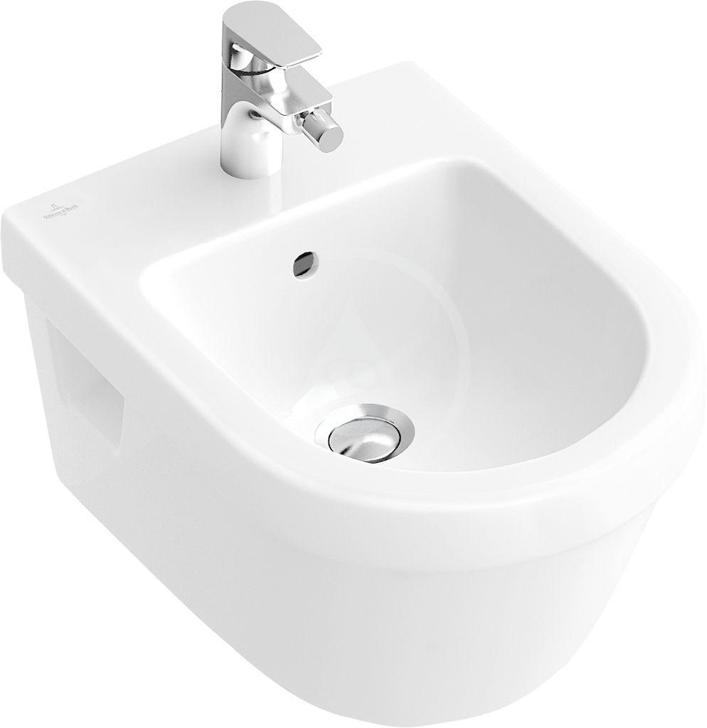 VILLEROY & BOCH - Architectura Závesný bidet s prepadom, alpská biela 54840001
