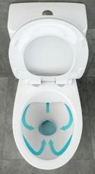 Novinka - WC kombi se splachováním SimpleOn