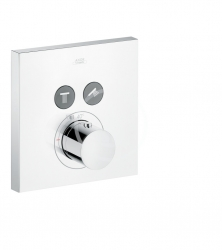 AXOR - ShowerSelect Termostat pod omietku na 2 spotrebiče, chróm (36715000)