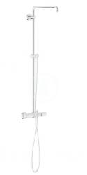 GROHE - Euphoria Sprchový systém s vaňovým termostatom na omietku, chróm (26243000)