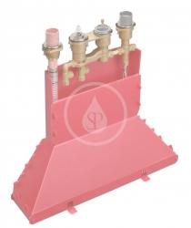 AXOR - Okrajové systémy Teleso na štvorotvorovú termostatickú batériu na okraj vane (15482180)