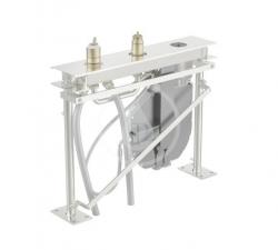 HANSA - Compact Montážne teleso pre vaňovú batériu, 3-otvorová inštalácia (53010300)