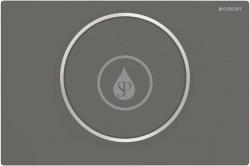 GEBERIT - Sigma10 Ovládacie tlačidlo Sigma10, čierna mat/nehrdzavejúca oceľ (115.758.14.5)