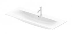 DURAVIT - Viu Umývadlo 1230x490 mm, s 1 otvorom na batériu, s WonderGliss, alpská biela (23441200001)