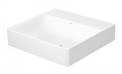DURAVIT - DuraSquare Umývadlo 500x470 mm, DuraCeram, s WonderGliss, alpská biela (23535000701)