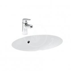Laufen - Birova Vstavané umývadlo, 530mmx405mm, biela (H8111910000001)