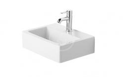 DURAVIT - Vero Jednootvorové umývadielko Med bez prepadu, 450 mmx350 mm, biele – umývadielko (0704450041)