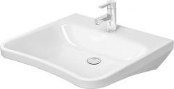 DURAVIT - DuraStyle Umývadlo, 650 mmx570 mm, bez prepadu, biele – bezotvorové umývadlo (2330650070)
