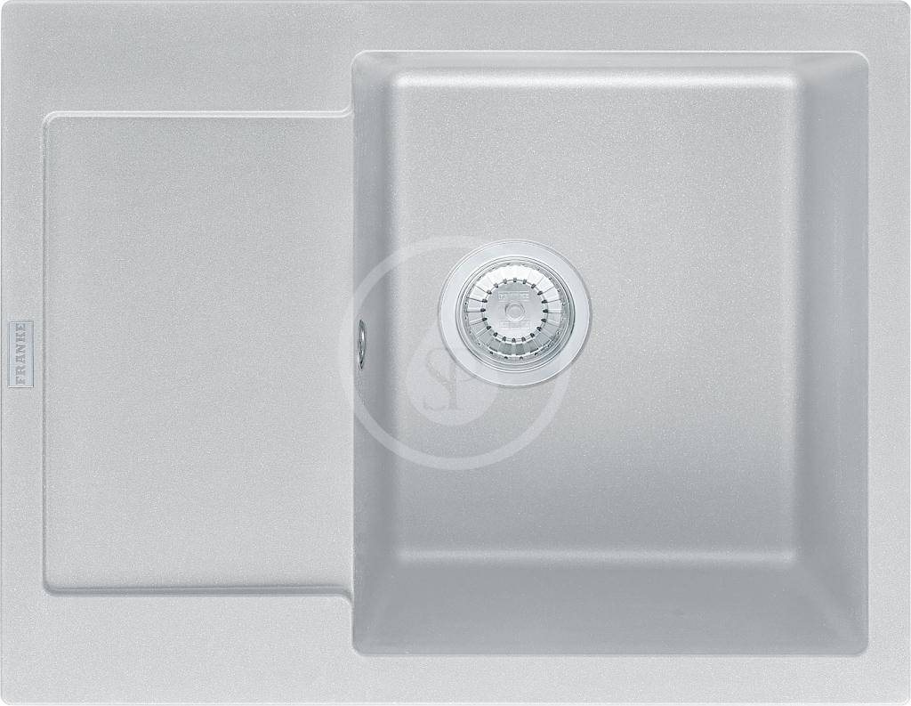 FRANKE FRANKE - Maris Fragranitový dřez MRG 611-62, 620x500 mm, šedý kámen (114.0284.764)