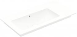 VILLEROY & BOCH - Venticello Umývadlo nábytkové 1000x500 mm, s prepadom, bez otvoru na batériu, CeramicPlus, alpská biela (4134L3R1)