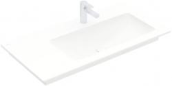 VILLEROY & BOCH - Venticello Umývadlo nábytkové 1000x500 mm, bez prepadu, otvor na batériu, CeramicPlus, alpská biela (4134R2R1)