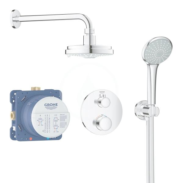 GROHE GROHE - Grohtherm Sprchový set Rainshower Cosmopolitan 160 s termostatem pod omítku, chrom (34735000)