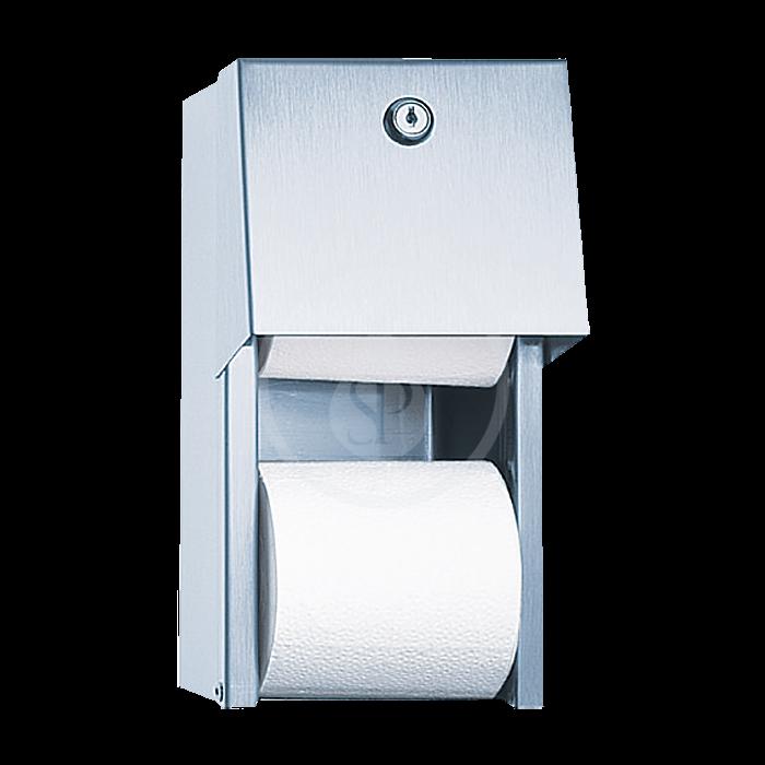 SANELA - Nerezové doplňky Zásobník z nehrdzavejúcej ocele na toaletný papier SLZN 26