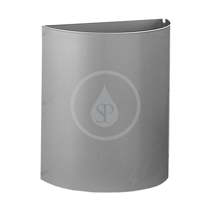 SANELA - Nerezové odpadkové koše Kôš z nehrdzavejúcej ocele polguľatý 12 l SLZN 22